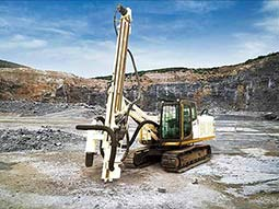 STR100 Top Hammer Drilling Rig