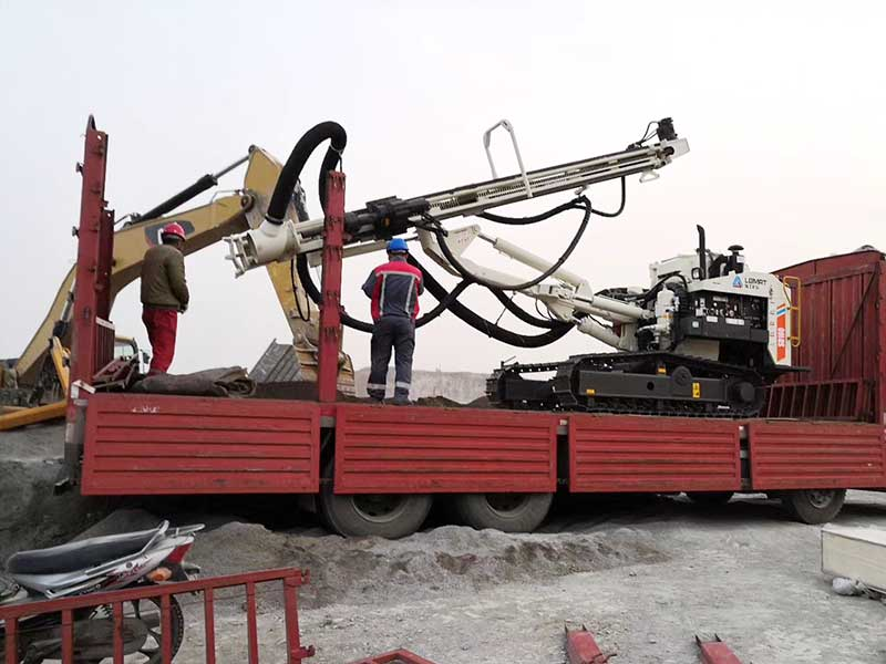 Excellent Public Reputation of DTH Drilling Rig Get New Customer